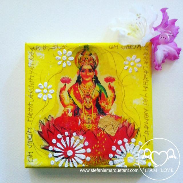 Lakshmi - Göttin der Schönheit, der Fülle & des Reichtums