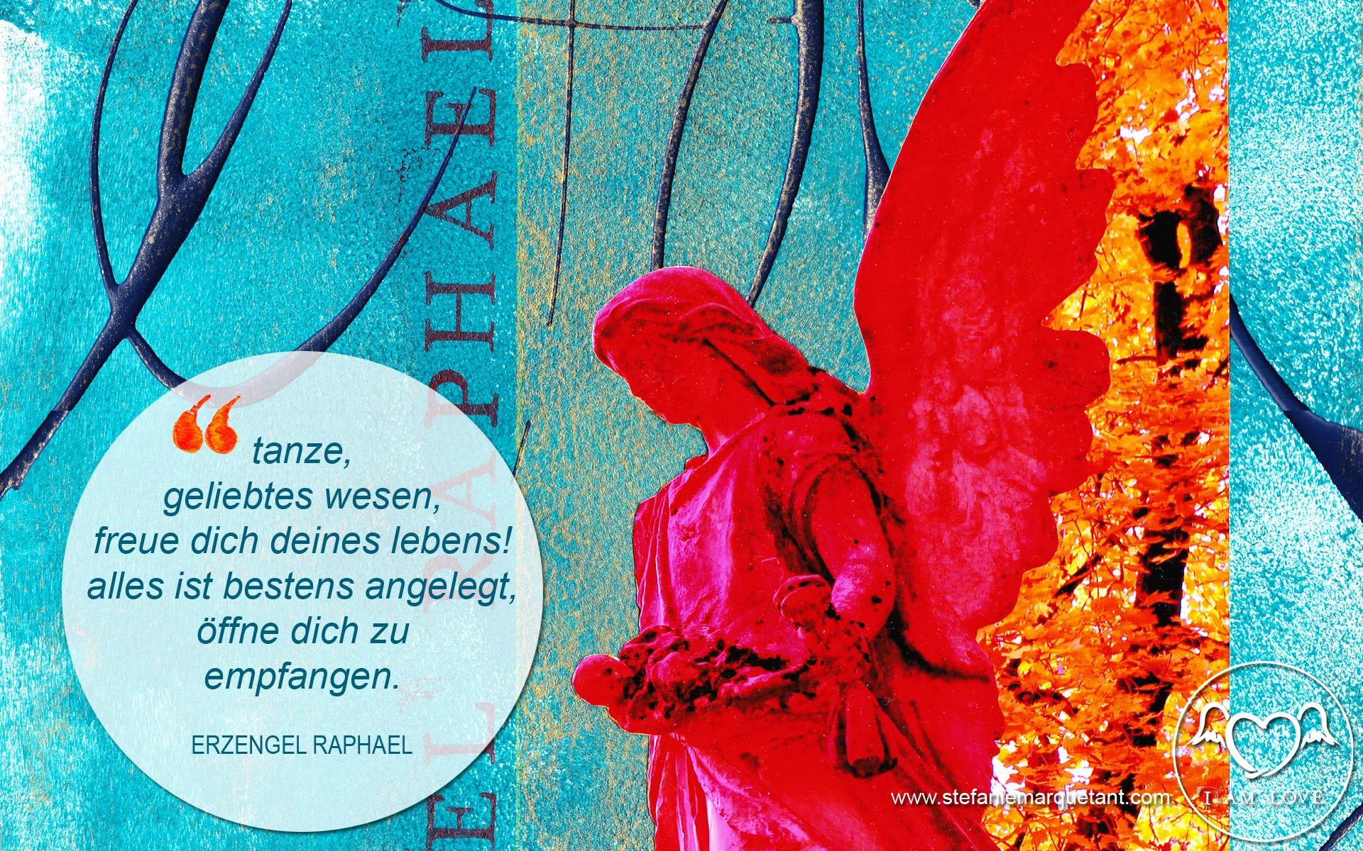Wallpaper Erzengel Raphael Stefanie Marquetant