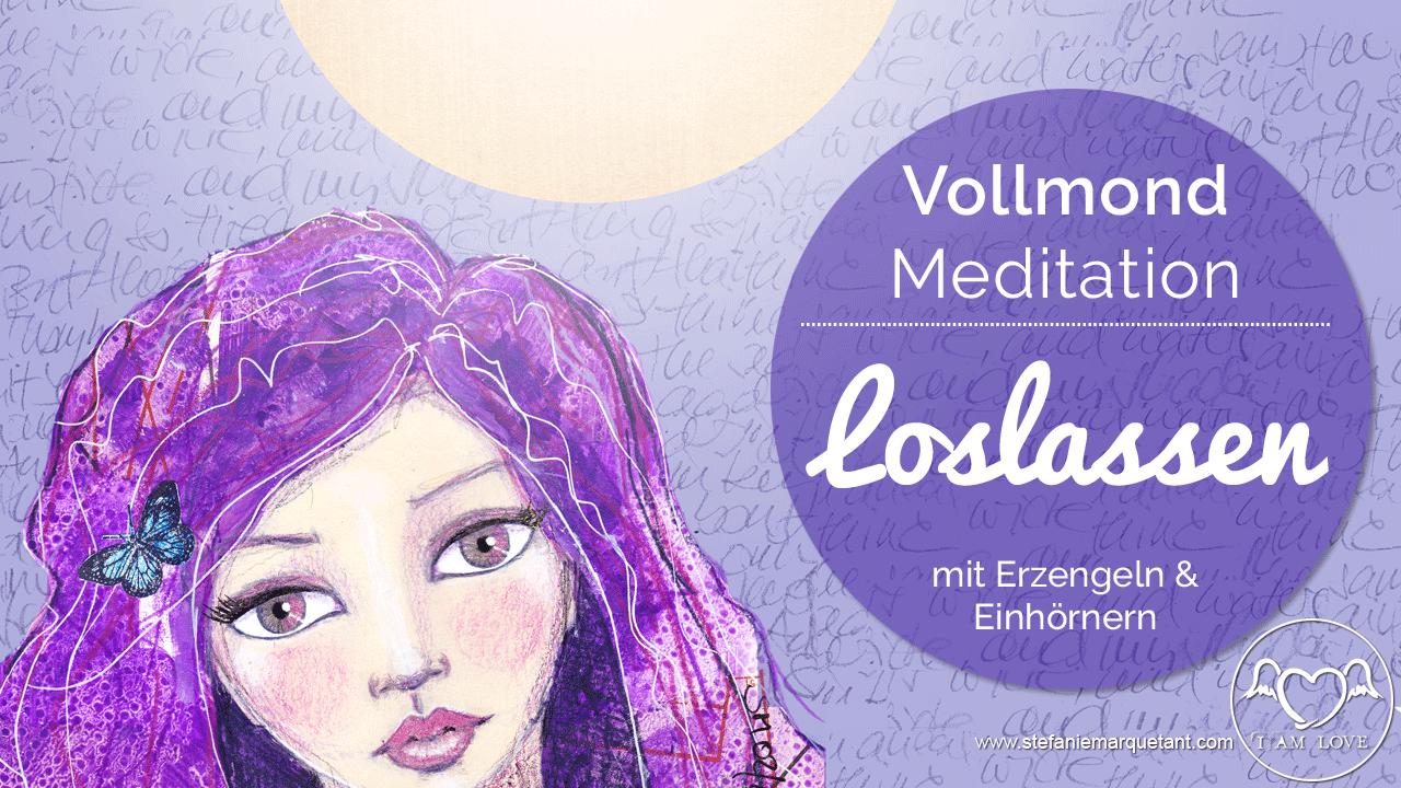 Vollmond-Meditation Loslassen Stefanie Marquetant