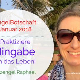 Engelbotschaft Januar 2018 Stefanie Marquetant