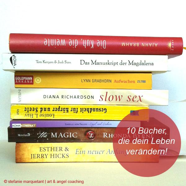 10 Bücher, die dein Leben verändern