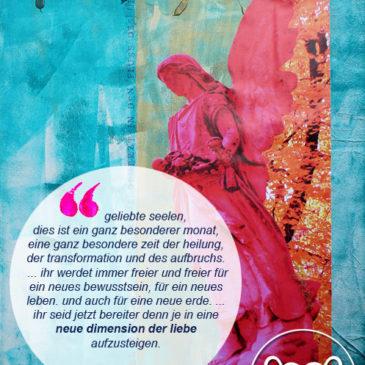 Engelbotschaft November 2015 & Transformations-Meditation
