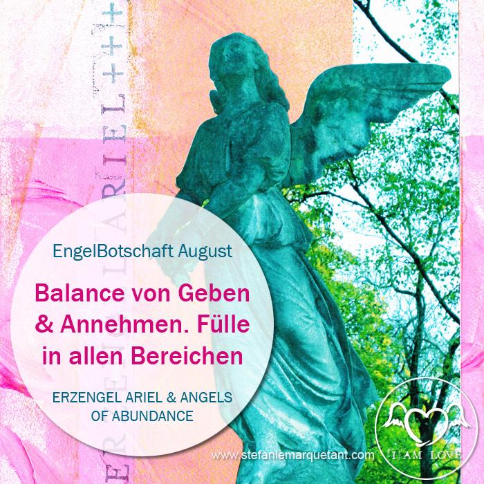 EngelBotschaft August & NeumondRitual