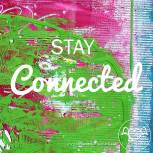 stay connected Stefanie Marquetant