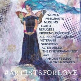 Stefanie Marquetant ArtistsForLove WeStandWithYou