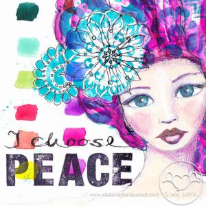Stefanie Marquetant: I choose peace
