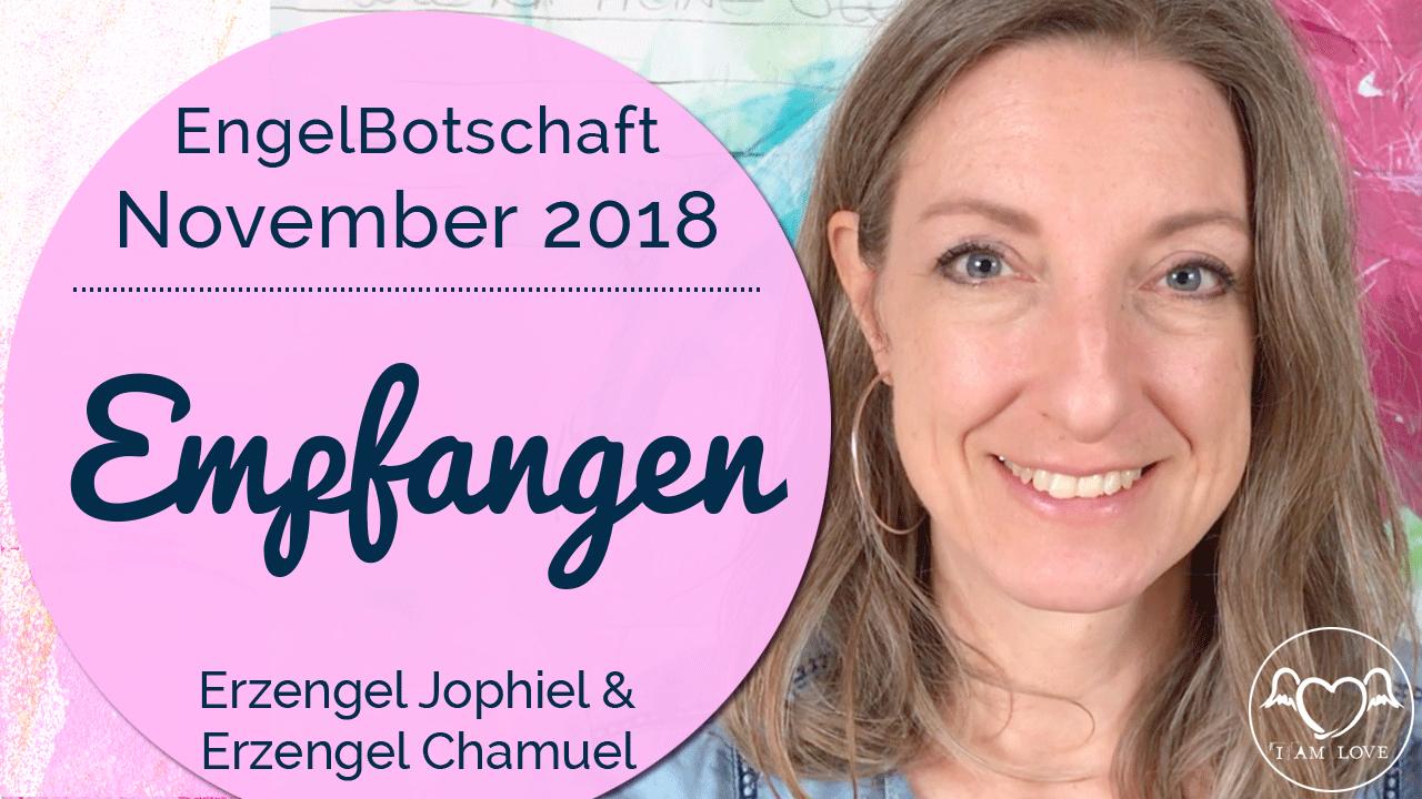 Engelbotschaft November 2018 Stefanie Marquetant