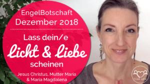 EngelBotschaft / Channeling Dezember 2018 Stefanie Marquetant