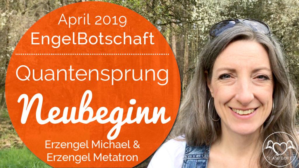 Engelbotschaft, Energiequalität und healing Frequency April 2019 Stefanie Marquetant