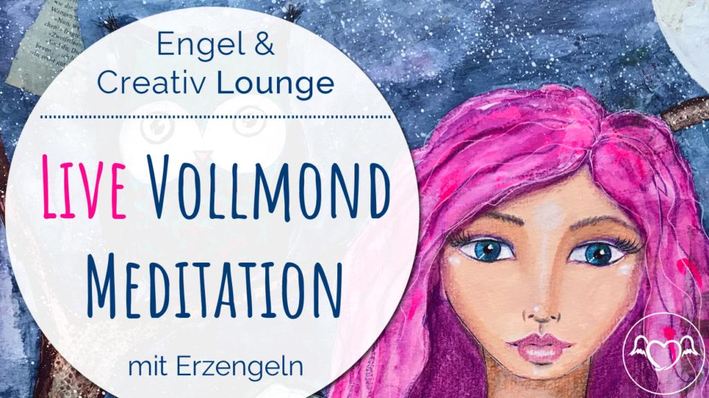 Aufzeichnung Live Vollmond Meditation Stefanie Marquetant
