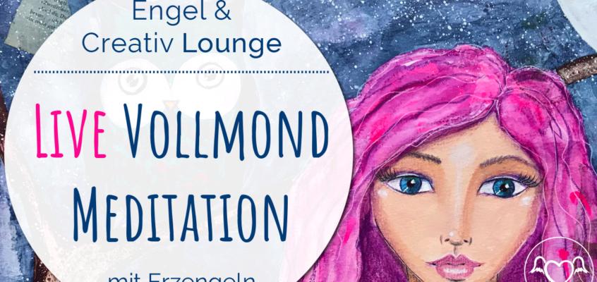 Live VollmondMeditation & Healing Frequency mit Erzengeln (Aufzeichnung)