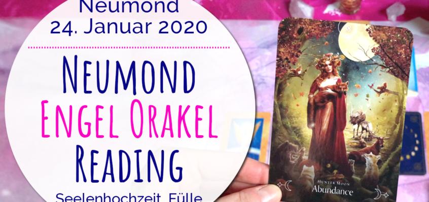 Neumond Engel Orakel Reading 24. Januar 2020: Seelenhochzeit, Fülle & Herzensweg