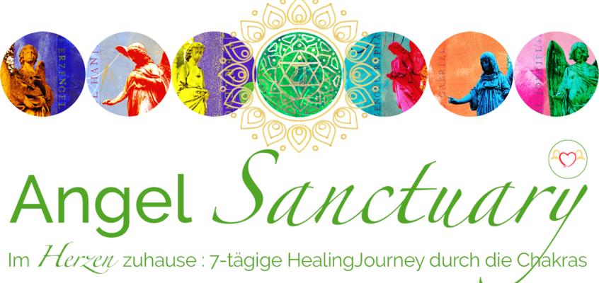 Angel SANCTUARY - 7-tägige HealingJourney mit den Engeln