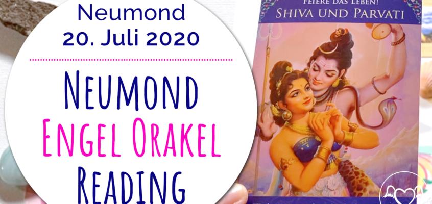 Neumond Engel Orakel Reading 20. Juli: Neubeginn, Mutter Erde, Frieden & Feiere das Leben!