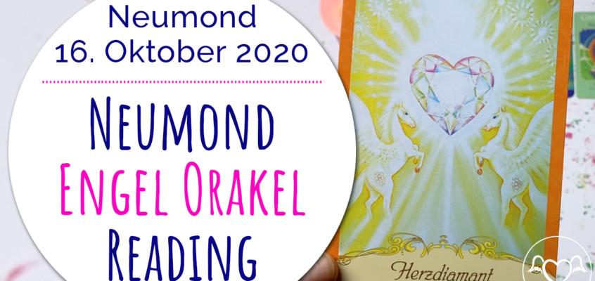 NeumondEngelOrakel Reading 16. Oktober: Herzdiamant, Liebe & Unterstützung