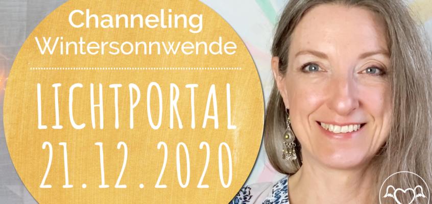 Channeling, EngelBotschaft & EnergieÜbertragung für das Lichtportal & Wintersonnwende am 21.12.2020 mit Erzengel Michael & Göttinnen